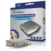 DVI audio/video switch - 2 indgange